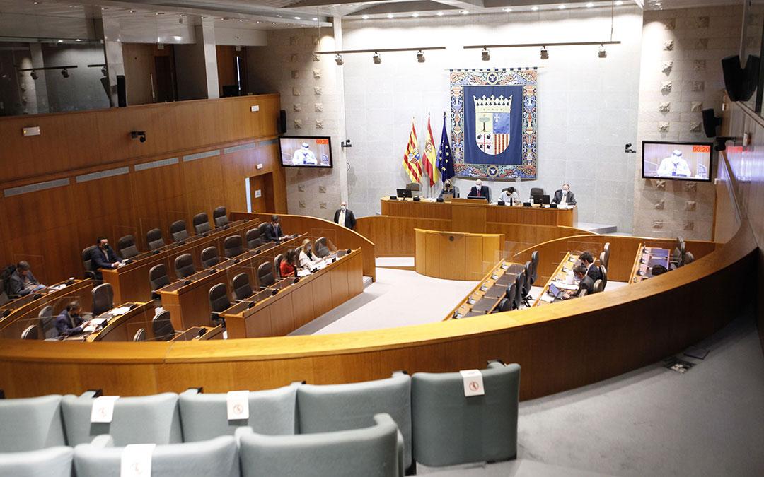 Comisión Institucional y de Desarrollo Estatutario el lunes en las Cortes. / CORTES DE ARAGÓN