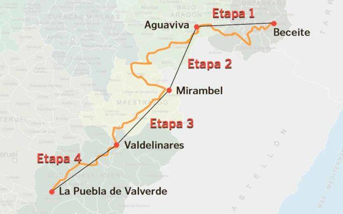Dorsales solidarios para apoyar la marcha por la Dignidad Rural de Teruel