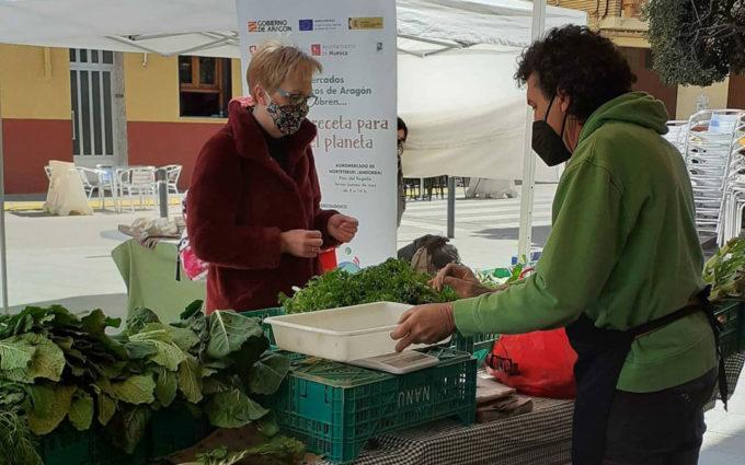 Alcañiz estrenará en mayo un mercado agroecológico y local