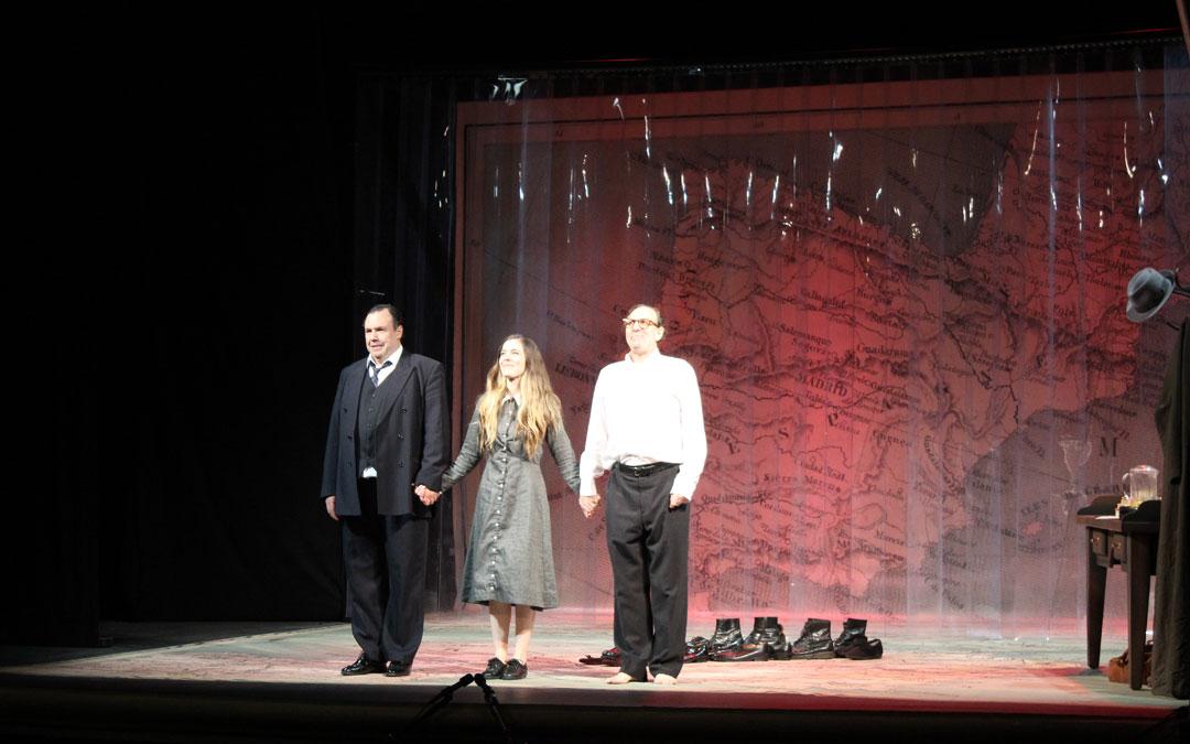'Los hermanos Machado' en escena en Alcañiz por Teatro del Temple. / B. Severino