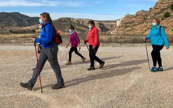 El reto de los 10.000 pasos diarios en Alcorisa con motivo del Día Mundial de la Obesidad