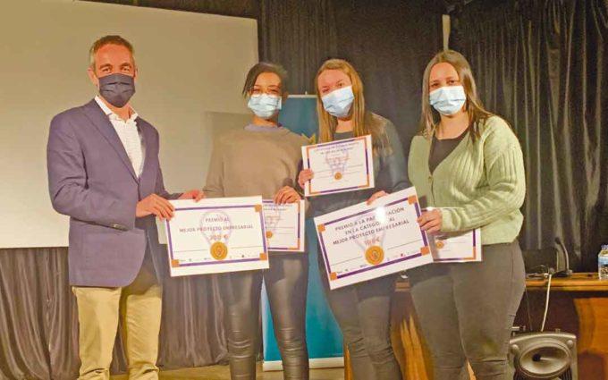 Los jóvenes del IES de Andorra convierten una idea en una realidad emprendedora