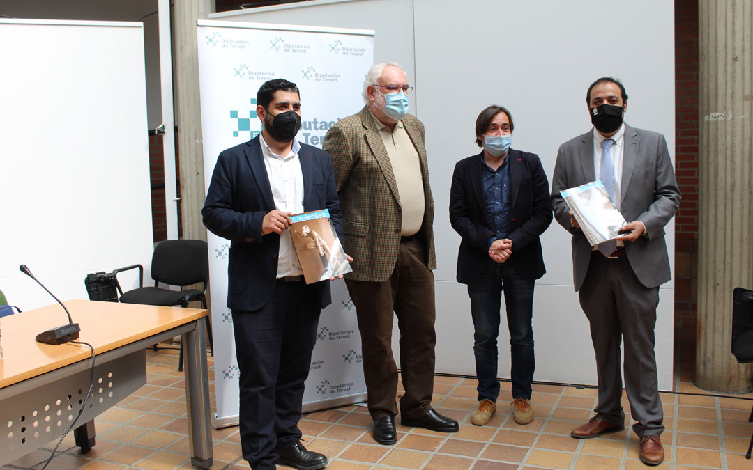 Diego Piñeiro, Javier Alquézar, Nacho Escuín y Antonio Amador. / B. Severino