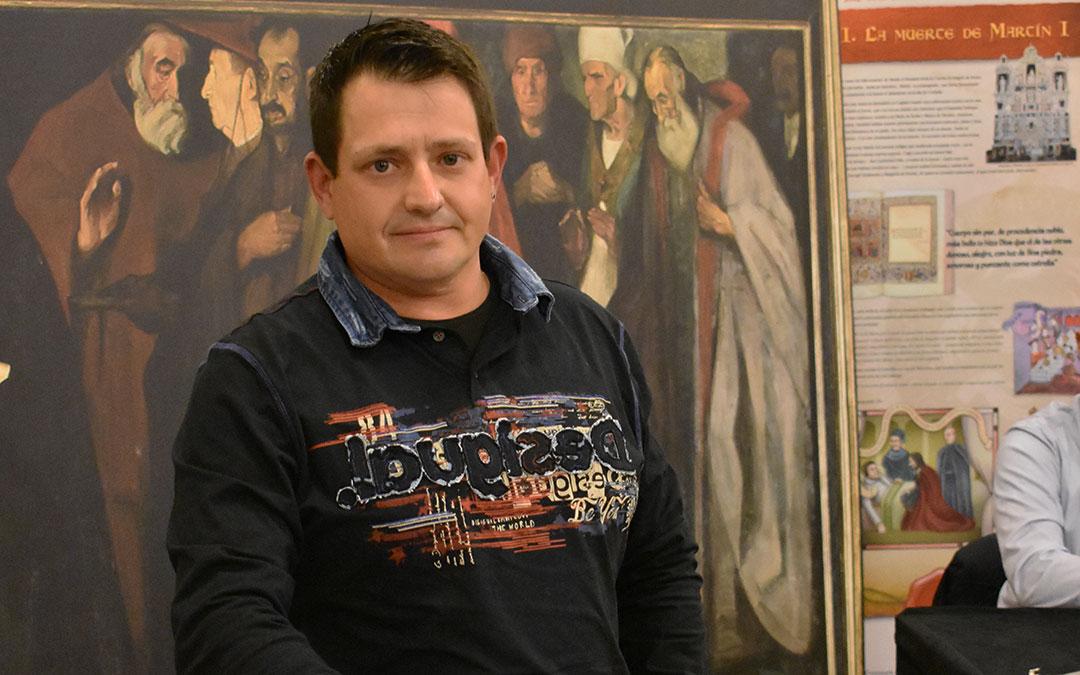 Antonio Tudo consejero comarcal y responsable comarcal de UAGA en la zona de Caspe.