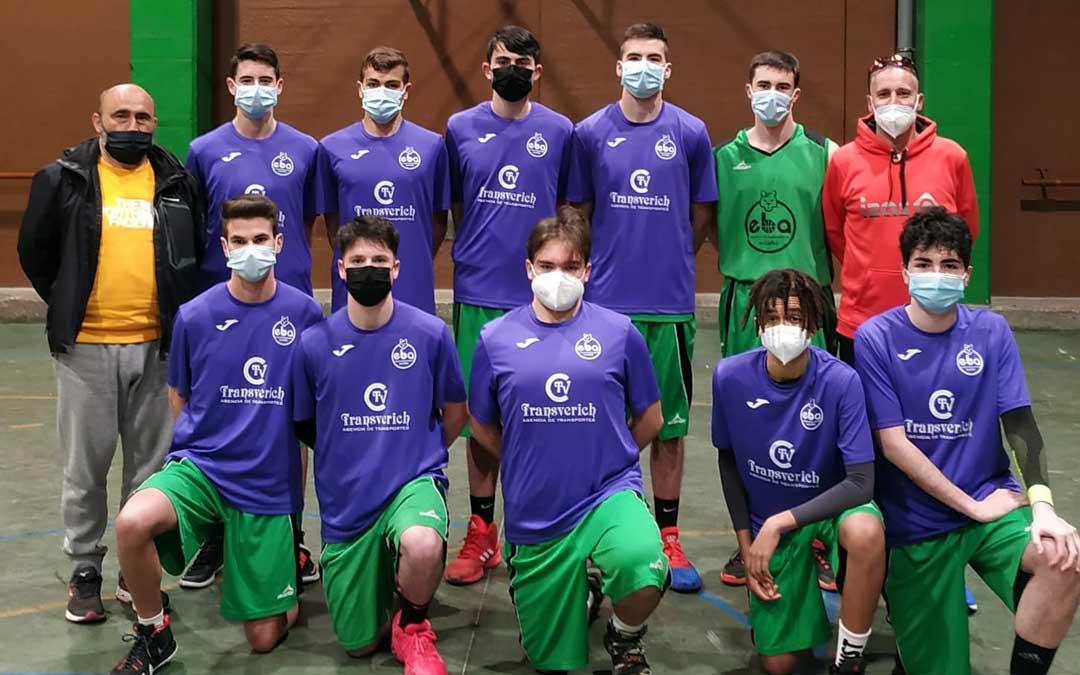El equipo junior del Transverich EBA Alcañiz. Foto: E.B.
