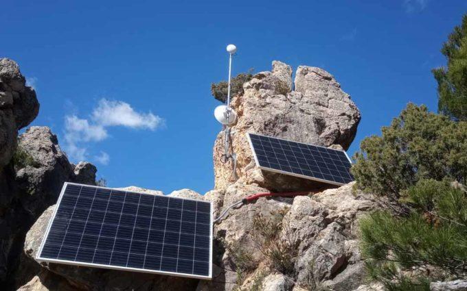 Beceite dota con wifi el aparcamiento del Parrizal para proporcionar cobertura en caso de emergencia
