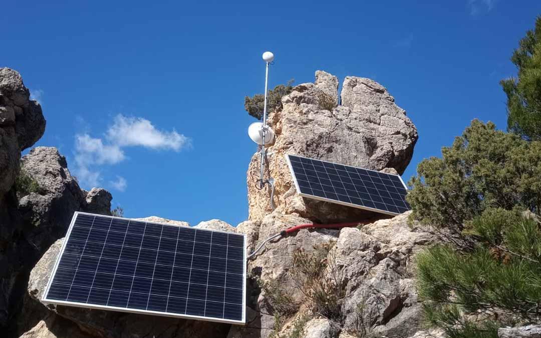 El nuevo repetidor permite ofrecer conexión de internet para establecer una comunicación. FOTO: Embou MásMóvil.