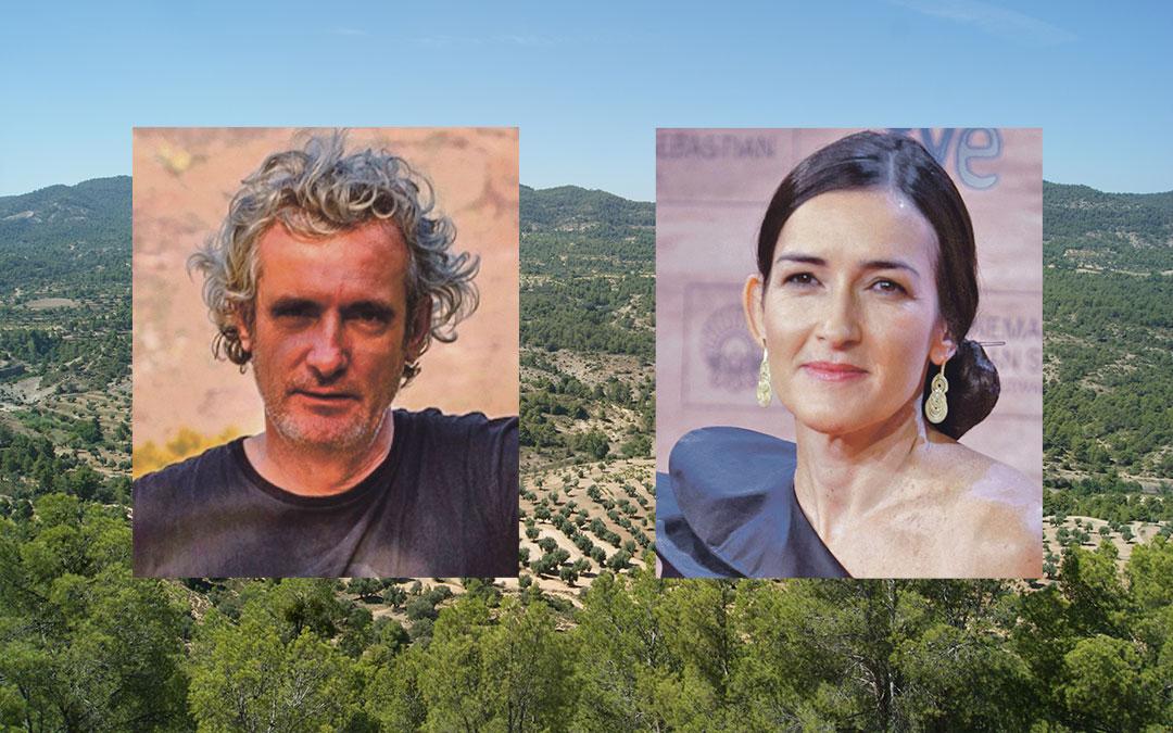 Miguel Santesmases y Ángeles González-Sinde preparan 'Tierra Baja' para rodar en Belmonte de San José y alrededores.