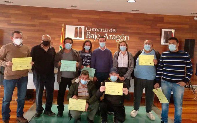 Finalizan con éxito las actuaciones de la IV brigada comarcal del Bajo Aragón