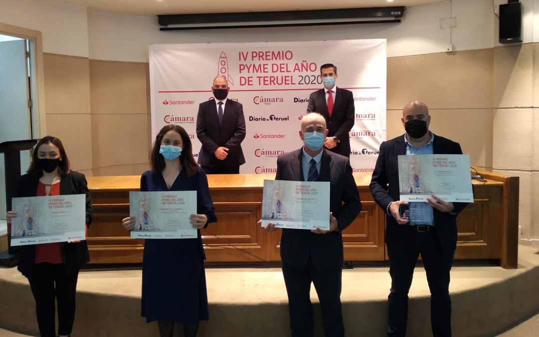 Imagen de la última edición del Premio Pyme del Año de Teruel en 2020 / Cámara Comercio.