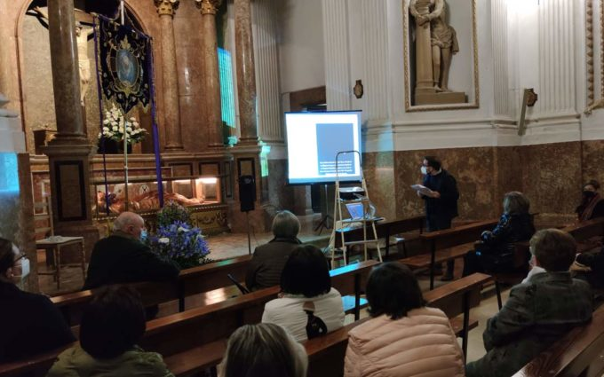 El historiador Jorge Martín habla sobre la devoción a La Soledad en vísperas de la Semana Santa