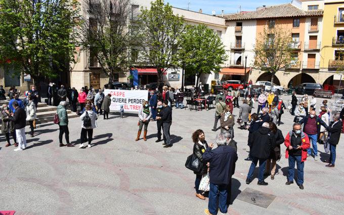 Las plataformas en defensa del ferrocarril piden participación para las manifestaciones de este domingo