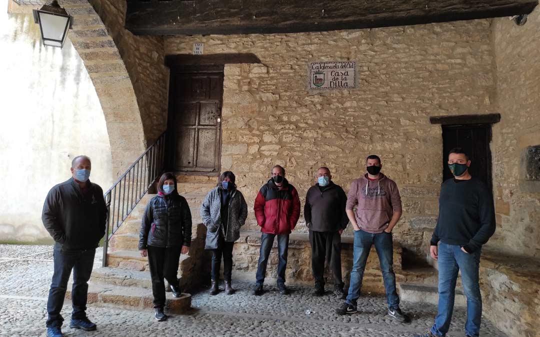 Corporación de La Iglesuela del Cid, uno de los firmantes del manifiesto./LA COMARCA