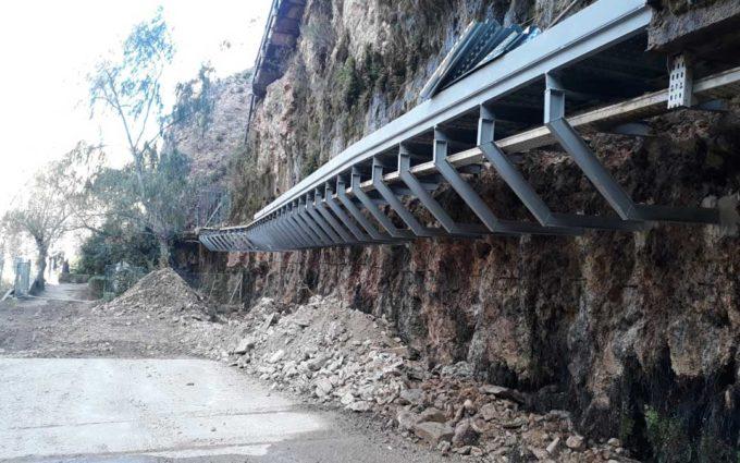 La CHE realizará mejoras en el acceso a la presa de Cueva Foradada