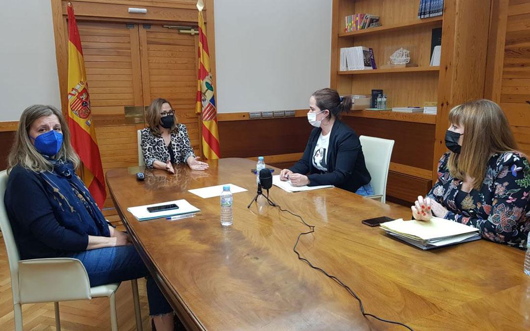 Reunión del Consejo Rector del Instituto Aragonés de la Mujer. / DGA