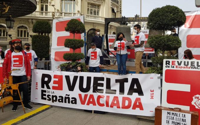 La España vaciada da la campanada en Madrid en el segundo aniversario de su revuelta