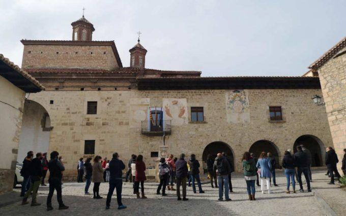 La Plataforma de los Paisajes de Teruel defiende su postura en Fortanete
