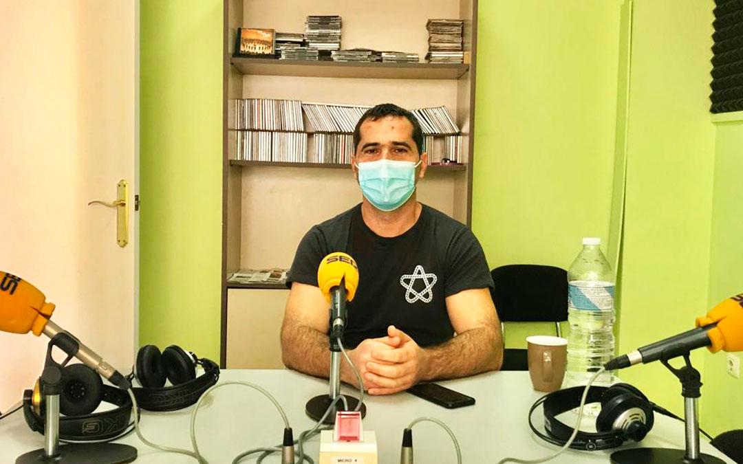 Gabriel Luena es concejal de Urbanismo y Educación de Caspe.