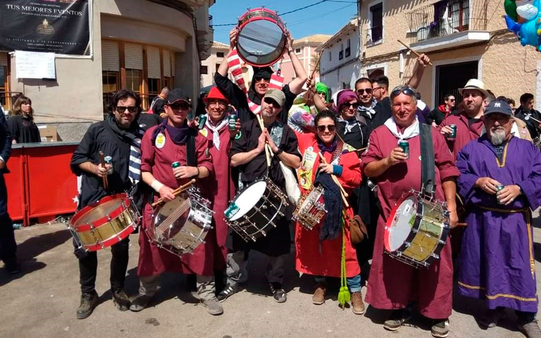 Las cuadrillas de Tobarra muy presentes en Jornadas/Drink's & Drums