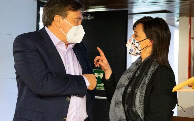 Cristina Monge: «Es fundamental el avance de las renovables, pero no a costa de poner unos territorios al servicio de otros»
