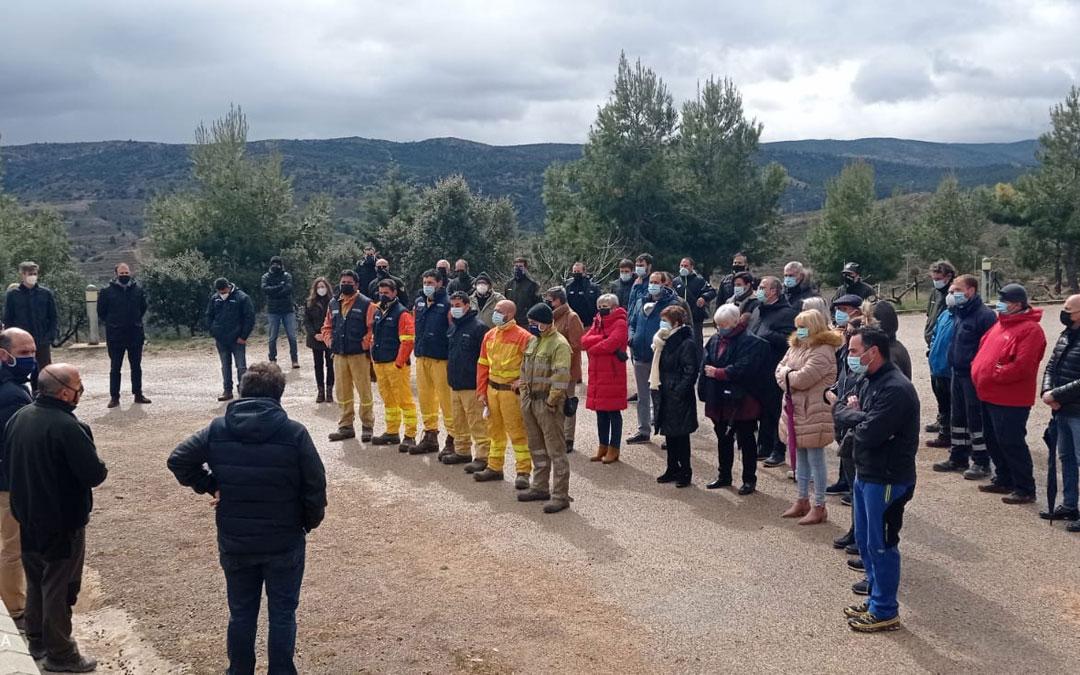 Homenaje en la base de Alcorisa en al cumplirse 10 años del accidente / Base Alcorisa