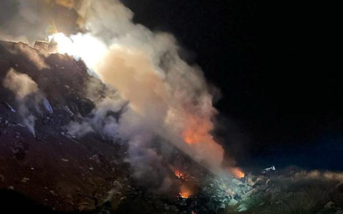 Extinguidos dos incendios en Calanda y San Blas
