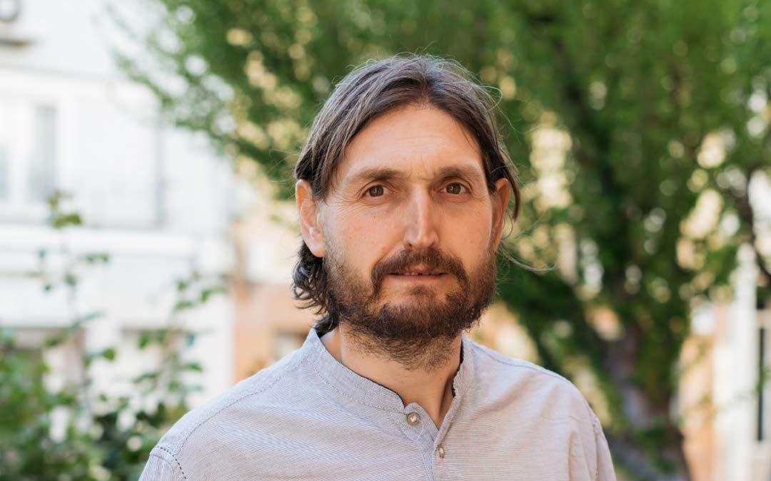 Javier Carbó. portavoz de CHA en el Ayuntamiento de Escucha./CHA