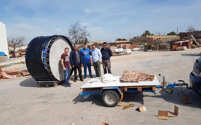 Continúa la recaudación de fondos para sufragar el bombo gigante de La Puebla