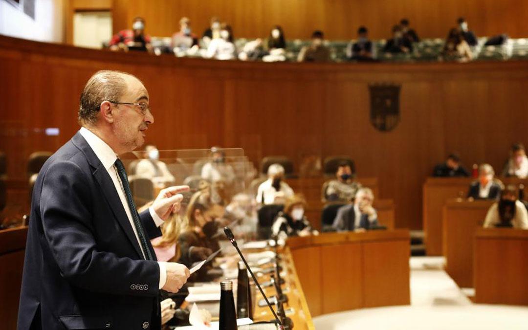 Pleno de las Cortes de Aragón./Oliver Duch