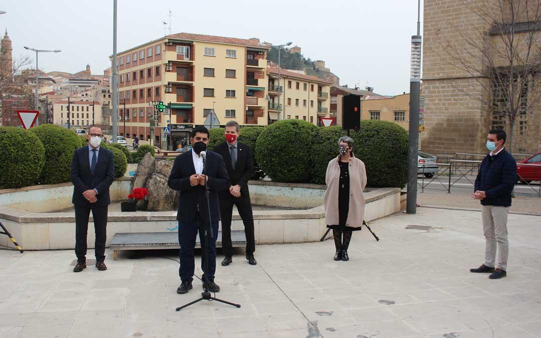 El diputado de Cultura de la DPT, Diego Piñeiro, ha anunciado que este año se homenajeará a Ramón Segura, presidente de la institución y alcalde de Valderrobres fusilado en el 36 / L. Castel
