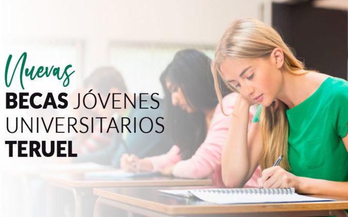 5 jóvenes de Teruel podrán disfrutar de una beca de hasta 10.000 euros para estudiar en la universidad