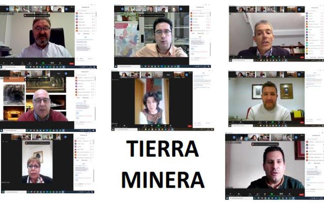 Captura de la presentación del proyecto 'Tierra Minera' celebrada este jueves./Ofycumi
