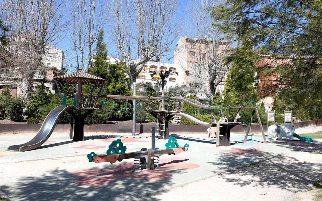 Parque infantil de la Glorieta / Ayto. Alcañiz