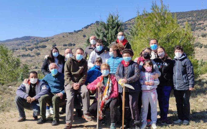 El Geoparque del Maestrazgo ha celebrado el Día Mundial del Bosque con la plantación de 100 árboles
