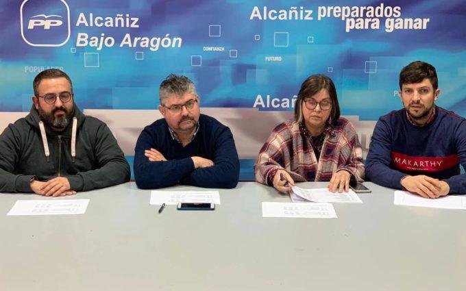 El PP pide la apertura de la escuela de Belmonte de San José para el próximo curso