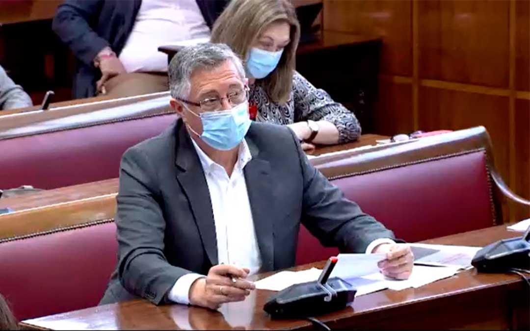 El senador del Partido Popular de Teruel, Manuel Blasco./ PP