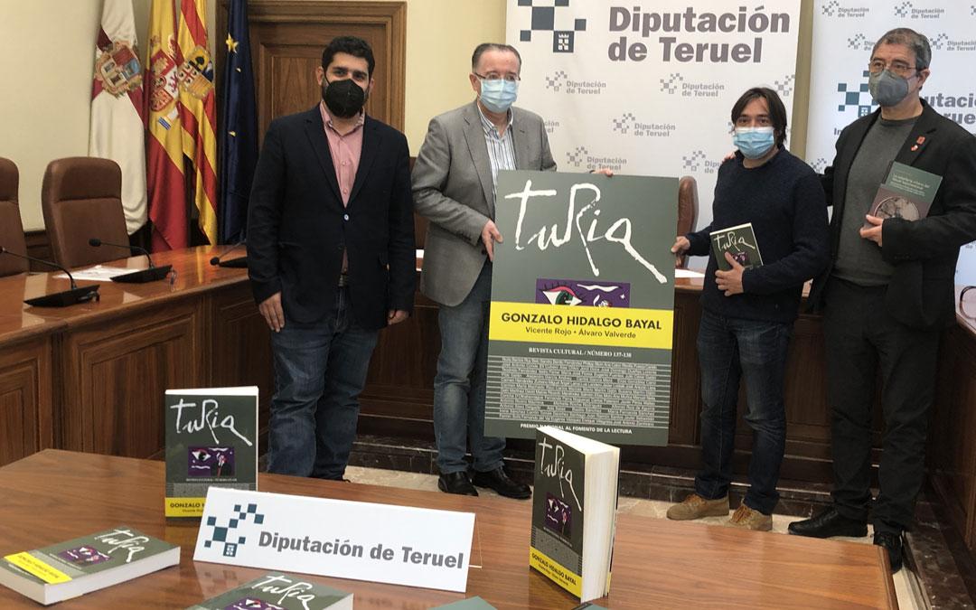 Presentación de la revista Turia. / DPT