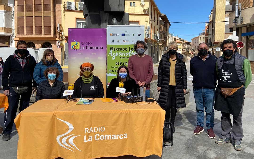 Invitados al programa especial emitido desde la Plaza del Regallo, de Andorra./ L.C.