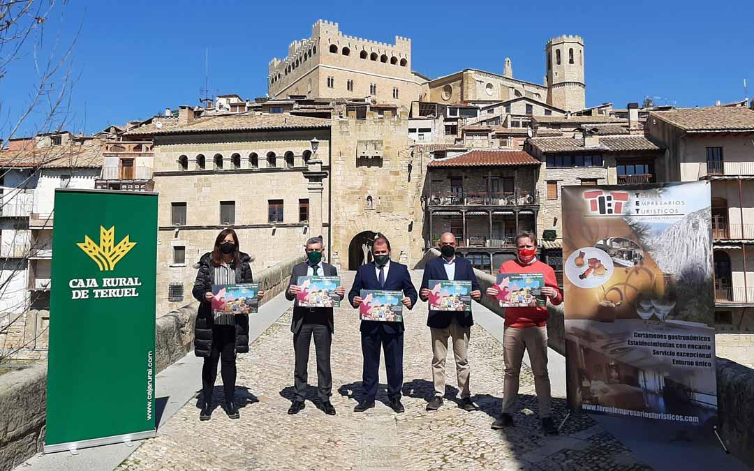 La campaña ha sido presentada en Valderrobres durante la mañana del miércoles.
