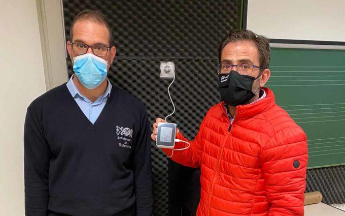 Valderrobres instala 16 medidores de dióxido de carbono en las aulas