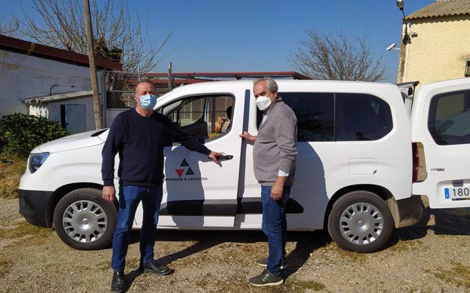 El centro de protección animal de la DPZ incorpora un nuevo vehículo para la recogida de perros en la provincia
