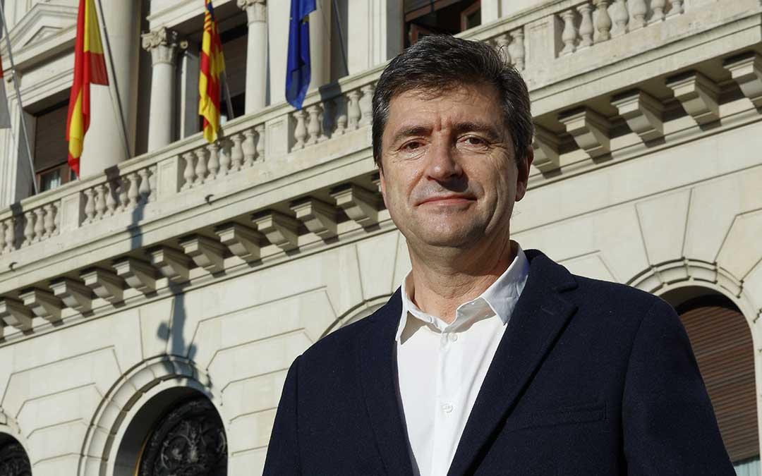 Vicente Pinilla, director de la Cátedra de Despoblación y Creatividad de la DPZ./ DPZ