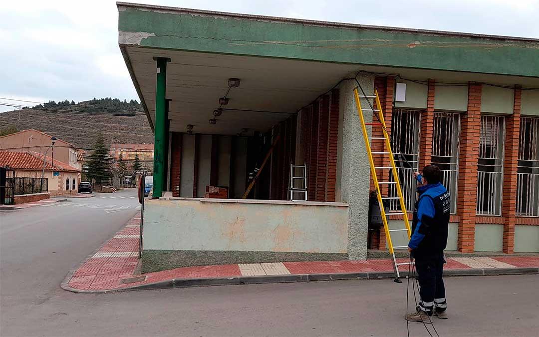 Instalación de puntos wifi gratuitos en Utrillas./ Ayto. de Utrillas