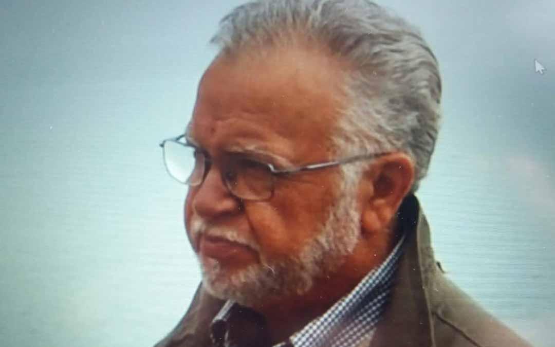 El dibujante y divulgador Vidal falleció el mares en Mazaleón. H.A.