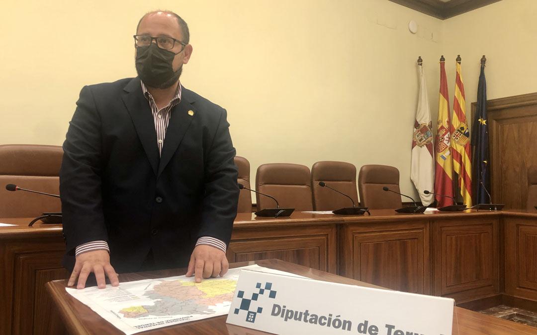 Alberto Izquierdo, vicepresidente de la Diputación de Teruel./DPT