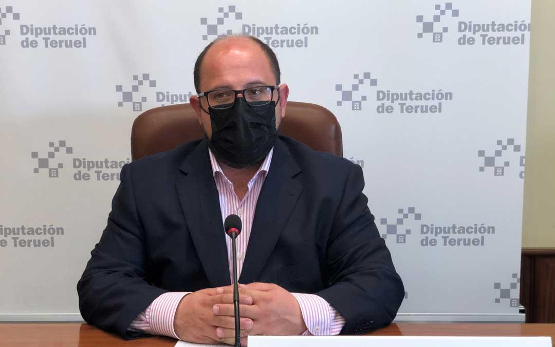 El vicepresidente de la Diputación de Teruel, Alberto Izquierdo / DPT