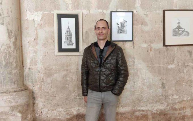 El santuario de la Virgen de la Fuente de Peñarroya de Tastavins acoge una exposición de Alberto Rodríguez
