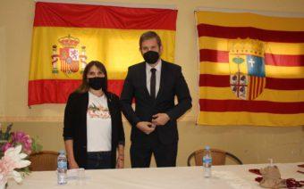 La nueva alcaldesa de Valmuel, Inmaculada Abadía, toma posesión de su cargo