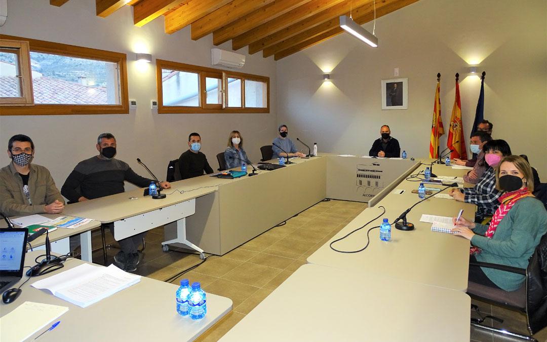 Pleno del Ayuntamiento de Alcorisa. / Ayto. Alcorisa