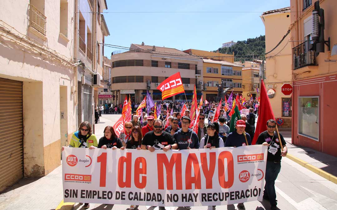Manifestación del 1 de Mayo en Andorra en 2019. En 2020 se suspendió por la pandemia.